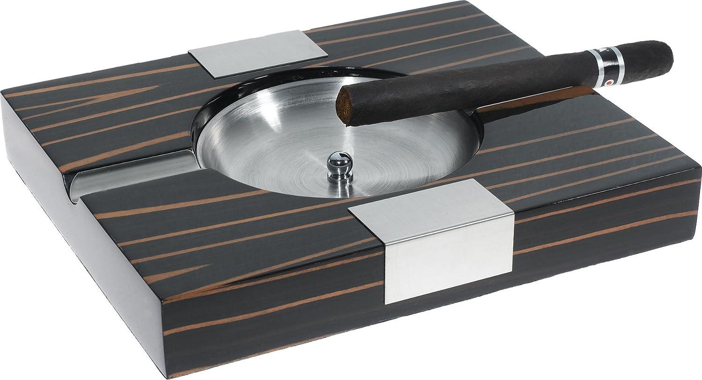 Visol vash900 Amari apricot Holz Zigarre Aschenbecher Ebenholz