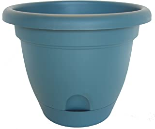 product image for Bloem Living LP1048 6-Pack Lucca Self-Watering Planter, 10-Inch, Turbulant