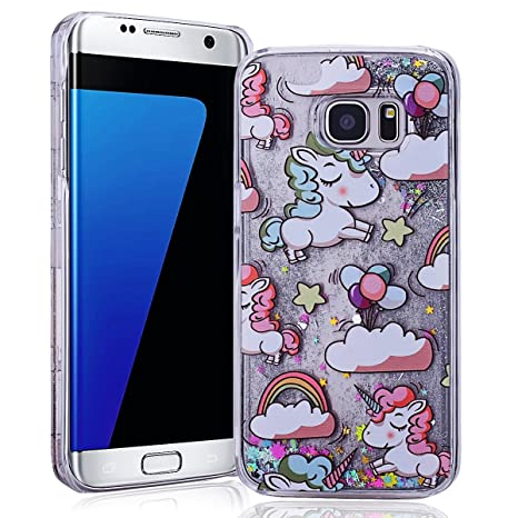 custodia samsung s7 edge unicorno