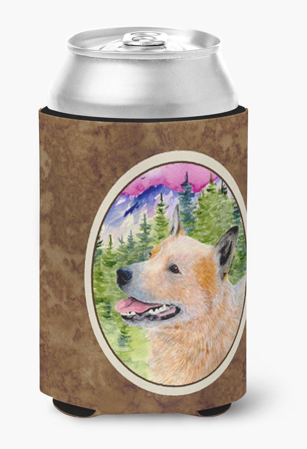 Caroline's Treasures SS8335CC Australian Cattle Dog Can or Bottle Beverage Insulator Hugger, Can Hugger, multicolor