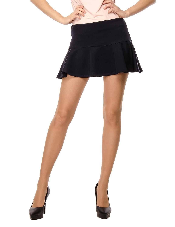 Les Sophistiquees Minigonna con Pieghe Falda para Mujer