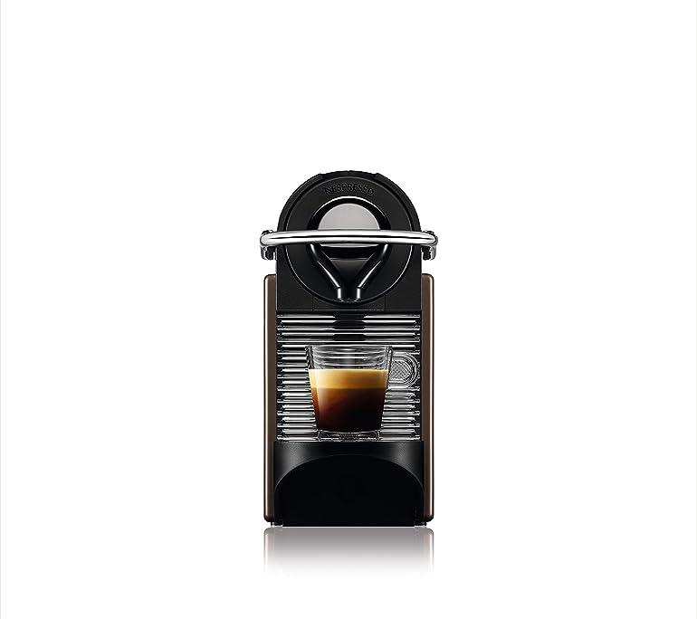 Nespresso Xn300840 Pixie Coffee Machine - Dark Brown: Amazon.co.uk ...