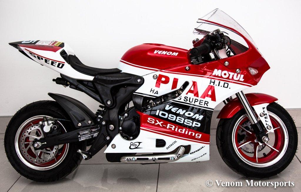 Venom 90cc x18 Super Pocket Bike: Amazon ca: Sports & Outdoors