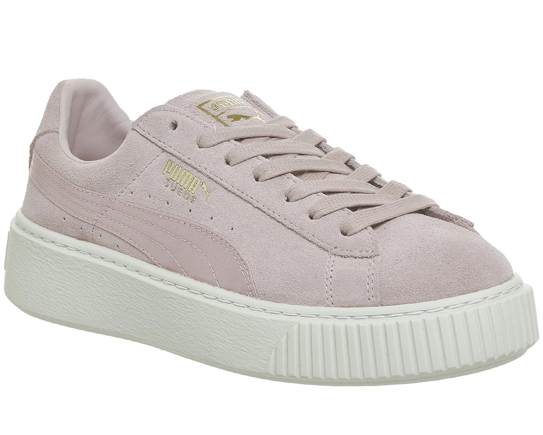 Puma Damen Sneakers Suede Platform Mono Satin EU Mehrfarbig (Pink 001) 6a653776f9