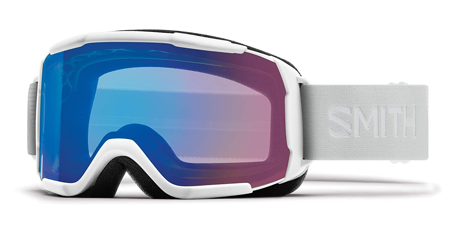 c004692b4ecf Amazon.com   Smith Optics Showcase Otg Women s Snow Goggles - White  Vapor Chromapop Storm Rose Flash One Size   Sports   Outdoors