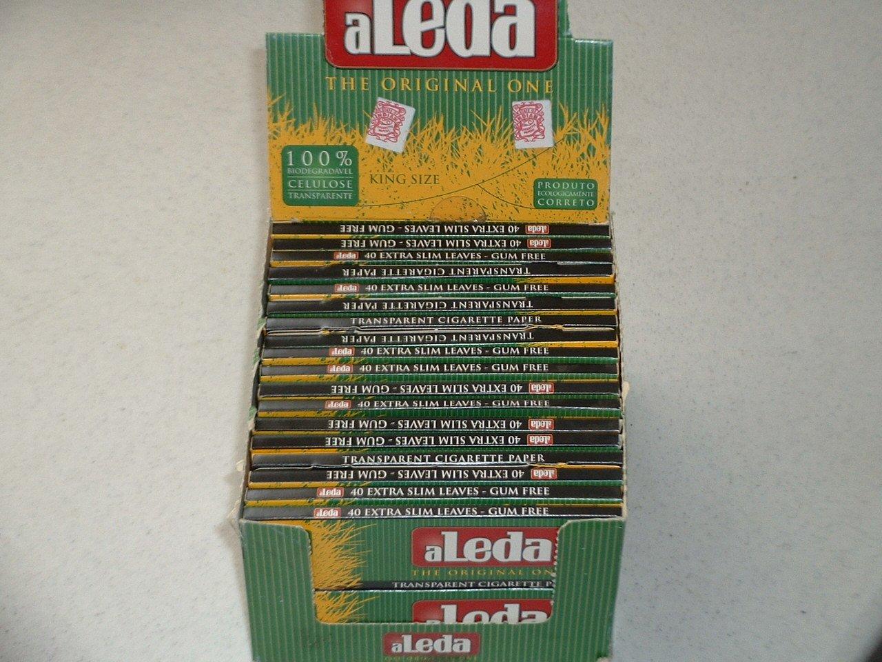 Aleda King Size Rolling Papers 1 Cs. Of 40 adela