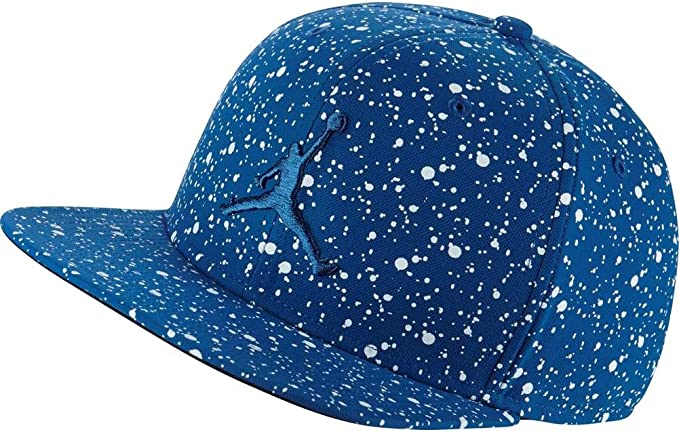 Jordan Gorra Speckle Print Snapback Azul/Blanco Talla: Ajustable ...