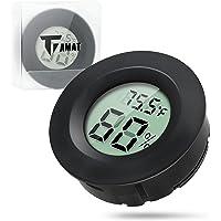 Digital Instant Read Thermometer Hygrometer, Tiamat Indoor Temperature Humidity Meter Detector, Electronic Thermometer for Kitchen, Indoor Garden, Cellar, Fridge, Closet