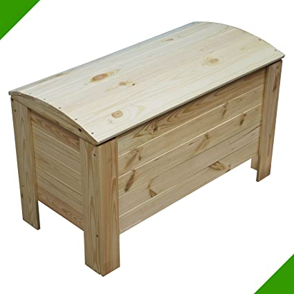 Baúl de madera para juguetes, ...