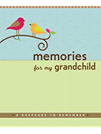 Baby memory book for grandparents