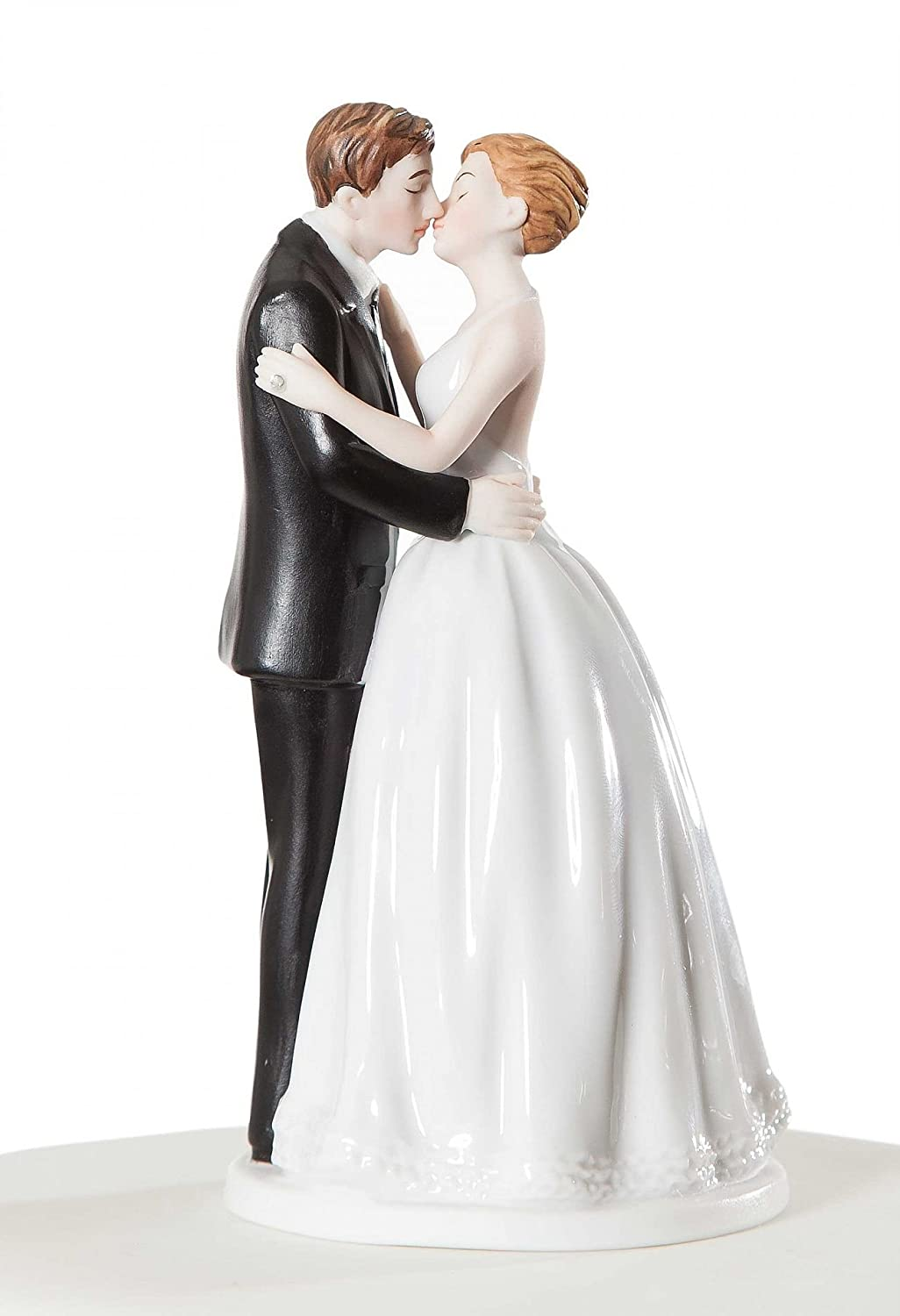 Wedding collectibles romance kissing couple wedding cake topper wedding collectibles romance kissing couple wedding cake topper figurine amazon kitchen home junglespirit Gallery