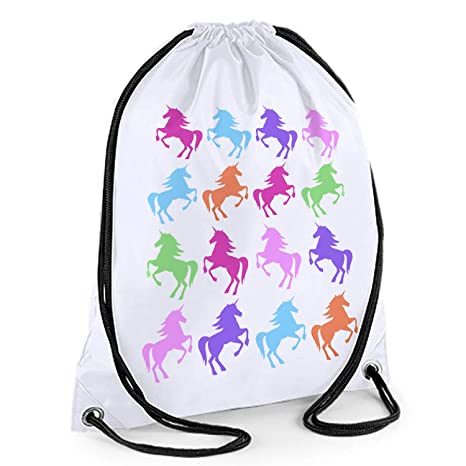 tigerlilyprints Bolsa de natación con patrón de Unicornio ...