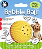 Pet Qwerks Animal Sound Babble Ball Interactive Toys - Flashing Motion Activated Electronic Talking Ball, Treat Toy That…