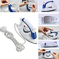 EAYIRA Travel Iron Foldable Handheld Steam Travel Iron Folding Compact Handheld Flat Travel Steam Iron Temperature Control