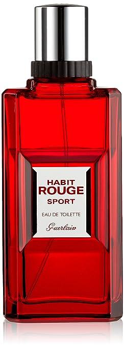 da2c480daf2bf Amazon.com : GUERLAIN Habit Rouge Sport Eau De Toilette Spray for ...