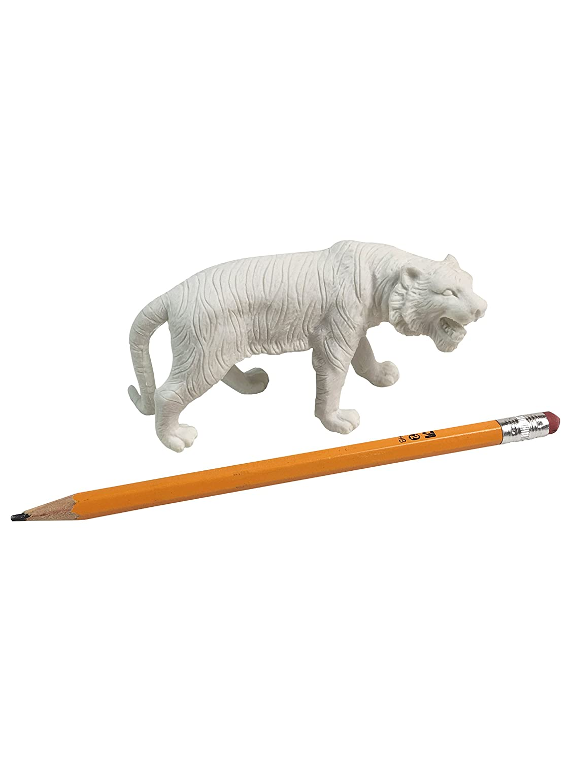 Extra Large Tiger Pencil Eraser Cappy/'s Cool Crafts