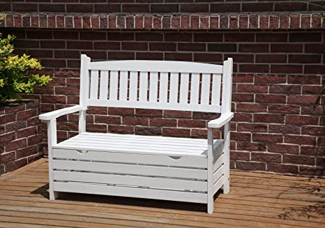Phenomenal Westwood Outdoor Home 2 Seat Chair Garden Porch Bench With Storage Indoor Seater Wood Wooden Frame Patio Deck Park Yard Furniture Wgb03 White Andrewgaddart Wooden Chair Designs For Living Room Andrewgaddartcom