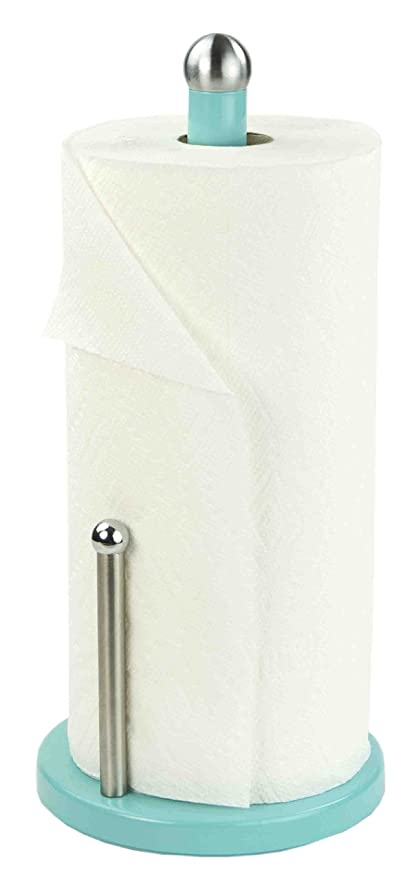 Unique Paper Towel Holders Adorable Amazon Home Basics Paper Towel Holder Turquoise Kitchen Dining