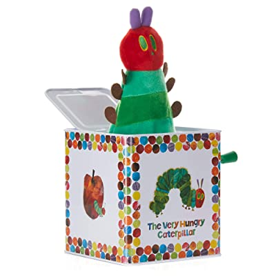 World of Eric Carle, The Very Hungry Caterpillar Jack in the Box : Baby Musical Toys : Baby