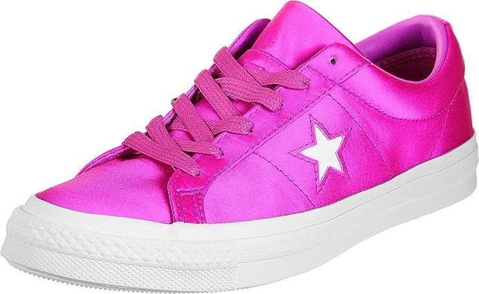Converse Chucks Chuck Taylor All Star Low Top Sneaker Damen Herren Unisex Neon Rosa