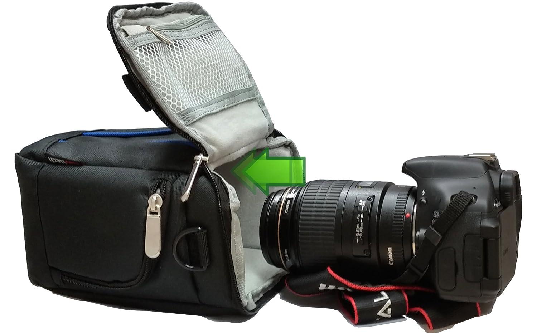 Navitech Funda Bolsa Para Cubrir Cámaras : Canon EOS 1100D/Canon ...
