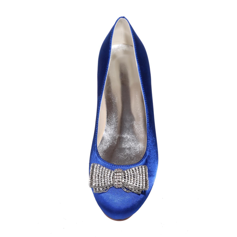L@YC Damen Hochzeit Schuhe Rundkopf Flat Flat Flat Party Nacht 9872-25 & More Verfügbare Farben f543f5