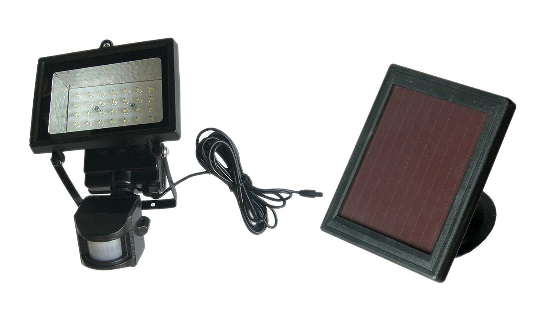 LED Solar-Flutlicht-Strahler mit Bewegungsmelder, MSL 05-01B-PIR ...