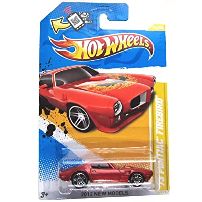 Hot Wheels 2012, '73 Pontiac Firebird RED, 2012 new models, 16/247. 1:64 Scale.: Toys & Games