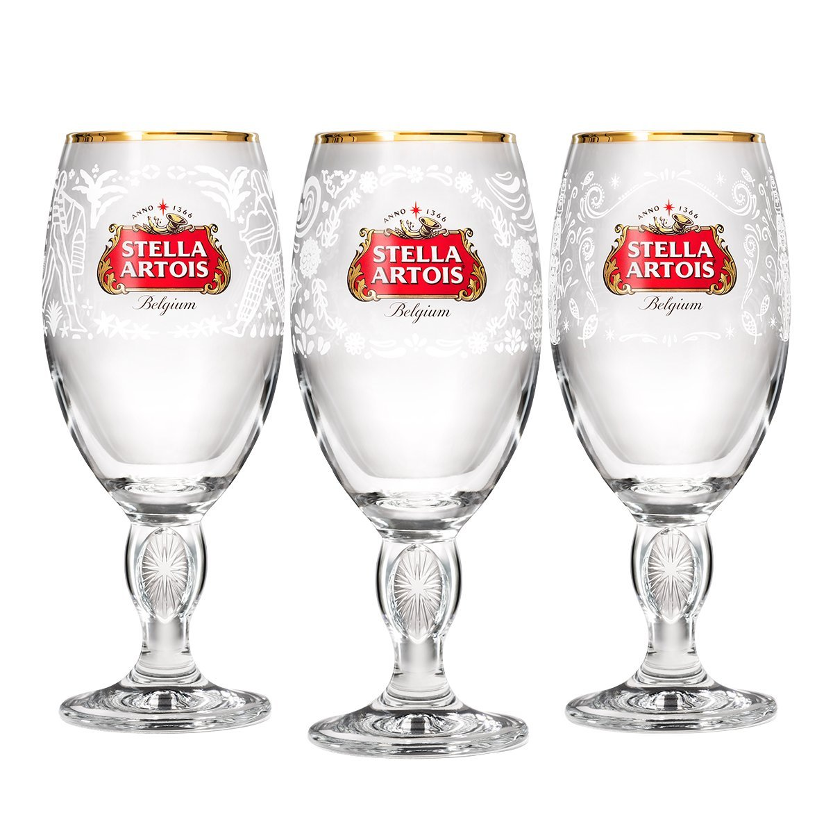 Stella Artois Limited-Edition Chalice Box-Set – Mexico, India, and Philippines, 33cl 537490