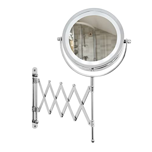 Illuminated Wall Mounted Cosmetic Shaving Guest Room