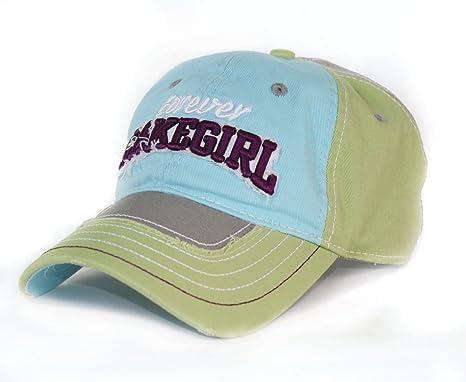 530cc637d3f06 LAKEGIRL Womens Jeanie Mesh Back Adjustable Ball Cap (Lime) at ...