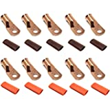 CUR410 Metra Electronics Corp Install Bay Copper Ring Terminal 4 Gauge #10 25 Pack
