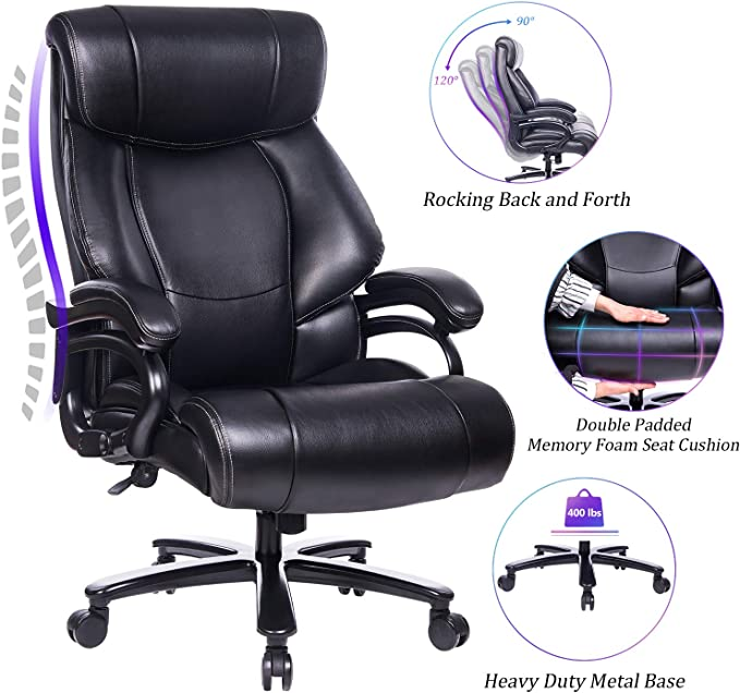 REFICCER Executive Office Desk Chair