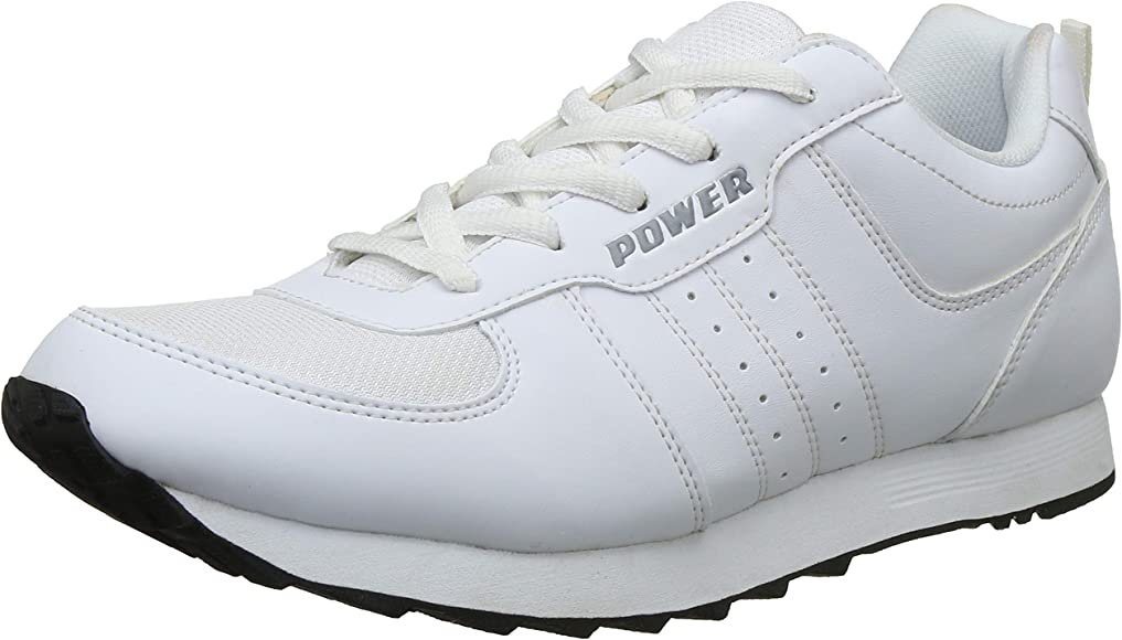 Buy Power Men's White Running Shoes-7