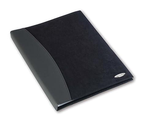 Rexel 2101186 - Carpeta de presentación A4 para catálogos y productos, negro