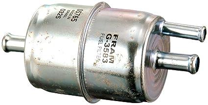fram g3583dp in line fuel filter In Line Radiator