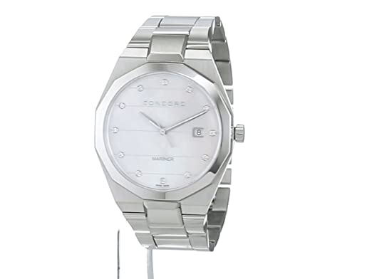 Concord Mens Analogue Classic Quartz Watch with Stainless Steel
