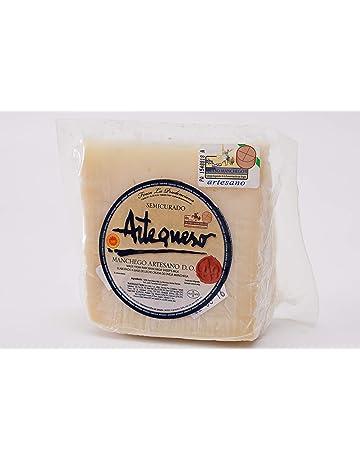 Queso Oveja Semicurado DO Manchego (Cuña, 250 g) - Artequeso