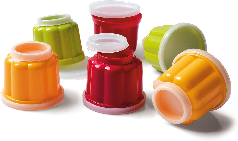 Kaiser Pâtisserie Juego 6 moldes para Pudding: Amazon.es: Hogar