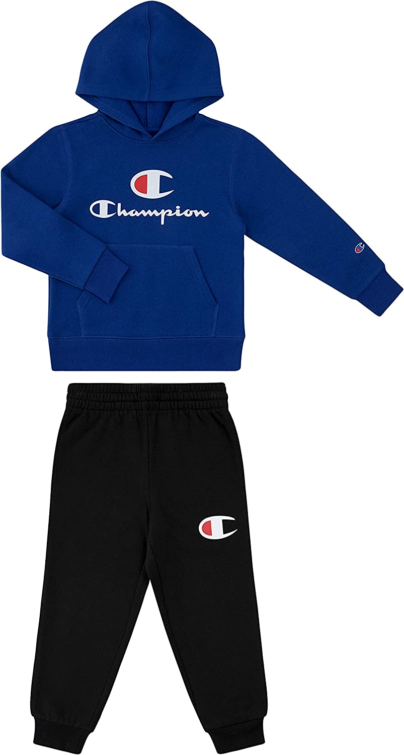 Champion Boys Hertiage 2-7 Two Piece Hooded and Crew Neck...