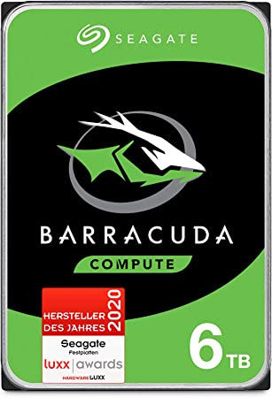 Seagate Barracuda 6 Tb Internal Hard Drive Hdd 3 5 Computers Accessories