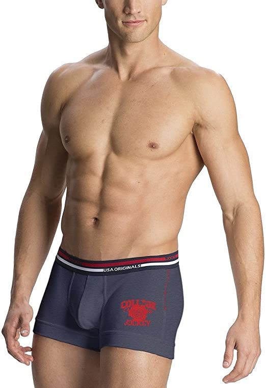 Jockey USA Modern Trunks US51(Assorted Pack of 4)(Colors May Vary) Men's Underwear Trunks at amazon