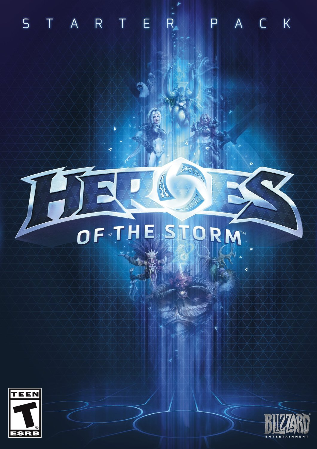 Heroes of the Storm: Starter Pack - PC/Mac [Digital Code] [Online Game Code] (Heroes Of The Storm)
