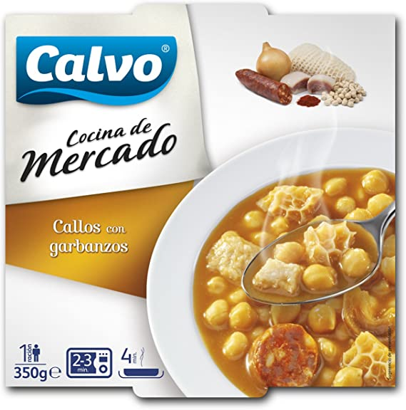 Calvo - Callos Con garbanzos C.M.350: Amazon.es ...