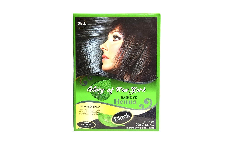 Amazon Glory Of New York Henna Hair Color Rich Black 60 G