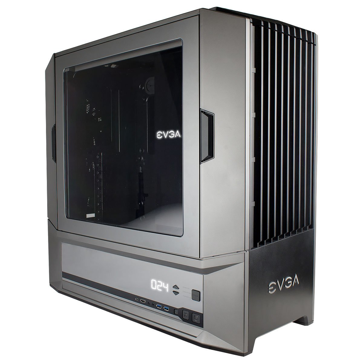 EVGA DG-87 Full Tower, K-Boost, Hardware Fan Controller, Gaming Case (100-E1-1236-K0)