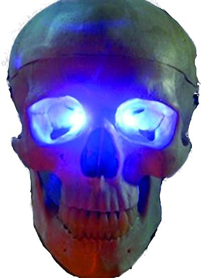 blue led eyes for mask skulls and halloween props