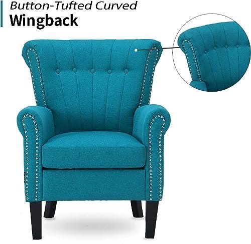 Altrobene Modern Accent Arm Chair