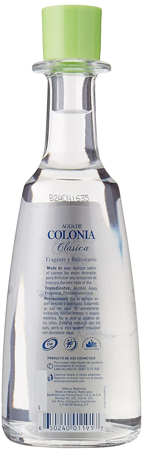 Amazon.com: 2 X Sanborns Agua De Colonia Clasica Flor De Naranja Unisex 202ml Each Glass Bottle: Health & Personal Care