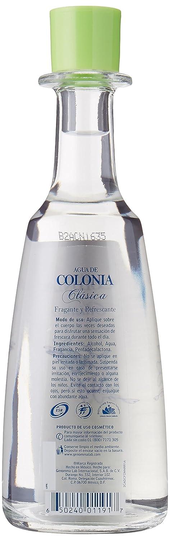 Amazon.com: 2 X Sanborns Agua De Colonia Clasica Flor De Naranja Unisex 202ml Each Glass Bottle: Health & Personal Care